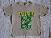 Youth Fincel's Sweet Corn Sand Color T-Shirt